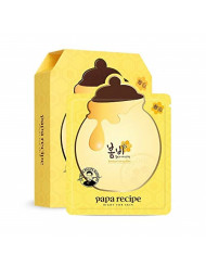 [Papa Recipe] Bombee Honey Mask Pack, 1 Pack/10 Sheets, 0.88 Ounce