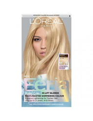 L'Oreal Paris Feria Multi-Faceted Shimmering Permanent Hair Color, 11.21 Bad to the Blonde (Ultra Pearl Blonde), 1 kit Hair Dye