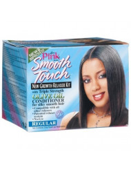 Luster's Pink Smooth Touch Regular Relaxer (Pack of 3) by Smooth Touch