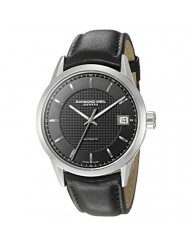 Raymond Weil Men's 'Freelancer' Swiss Automatic Stainless Steel Casual Watch, Color:Black (Model: 2740-STC-20021)