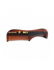 GBS Tortoise Pocket Mustache and Beard Comb Extra Small - Handmade in The USA