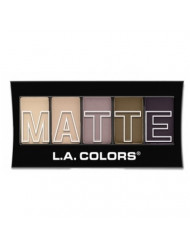 (6 Pack) L.A. Colors Matte Eyeshadow Natural Linen