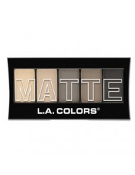 (6 Pack) L.A. Colors Matte Eyeshadow Nude Suede