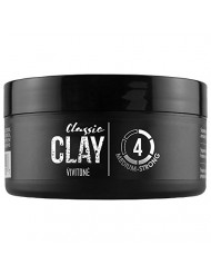 Vivitone Classic Styling Clay, 2.1 oz. Medium hold, Matte finish, Flexible & Re-workable, Nice fresh fragrance, Adds thickness and texture to any hairstyle