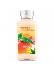Bath & Body Works Mango Mandarin Shea & Vitamin E Body Lotion, 8 Ounce