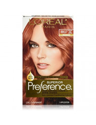 L'Oreal Superior Preference, RR07 Intense Red Copper (Warmer) 1 ea (Pack of 6)