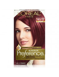 L'Oreal Superior Preference, RR04 Intense Dark Red (Warmer) 1 ea (Pack of 3)