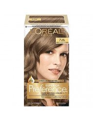 L'Oreal Superior Preference - 7 Dark Blonde (Natural) 1 Each (Pack of 4)