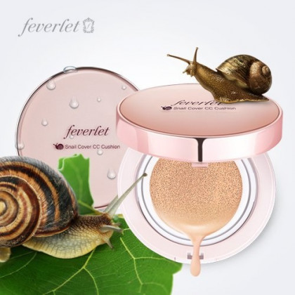 Charmzone Feverlet Snail Cover CC Cushion + Refill included