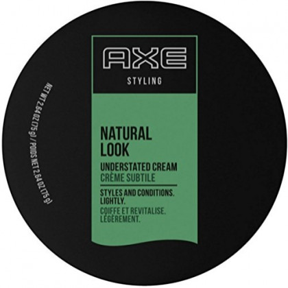 Axe Understated Natural Look Hair Styling Cream 2.64 oz (Pack of 4)