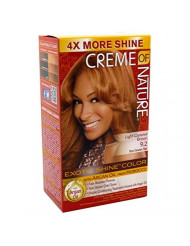 Creme Of Nature Color #9.2 Light Caramel Brown Exotic Shine (Pack of 2)