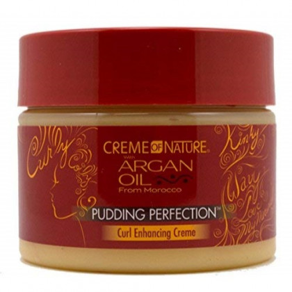 Creme of Nature Pudding Perfection With Argan Oil From Morocco, 11.5 oz (Pack of 4)