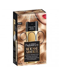 L'Oreal Paris Superior Preference Mousse Absolue, 900 Pure Light Blonde (Pack of 3)