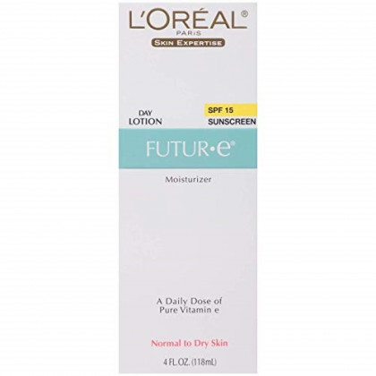 L'Oreal Paris Skin Expertise Future Moisturizer + a Daily Dose of Pure Vitamin E, SPF 15 4 oz