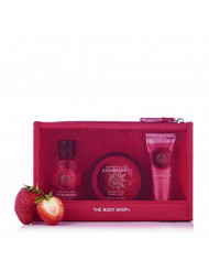 The Body Shop Strawberry Delights Bag Gift Set