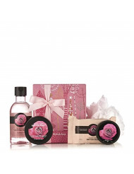 The Body Shop British Rose Festive Picks Small Gift Set