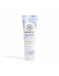 The Honest Company Truly Calming Face + Body Lotion   Dermatologist Tested   Body Lotion for Sensitive Skin   Baby Lotion   Lavender Essential Oils & Chamomile   8.5 Fl Oz