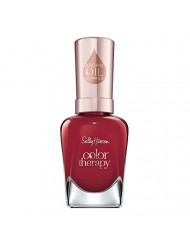 Sally Hansen Color Therapy Nail Polish, Red-y to Glow, Pack of 1