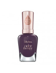 Sally Hansen Color Therapy Nail Polish, Exotic Acai, Pack of 1