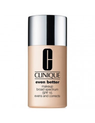 New Clinique Even Better Makeup SPF 15, 1 oz / 30 ml, 25 Buff (VF-G)