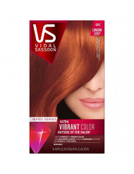 Vidal Sassoon Pro Series London Luxe Hair 6RC Bold Copper Citrine Kit