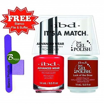 ibd Advanced Wear Color Duo Luck of the Draw #516 UV Gel Color