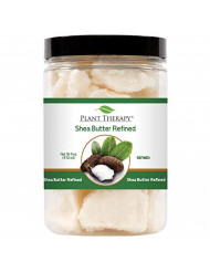 Plant Therapy Refined Shea Butter | For Body, Face & Hair | 100% Pure, Natural Moisturizer For Dry, Cracked Skin | Best for DIY Beauty Products Like Lotion, Cream, Lip Balm & Soap | 16 Ounce Container