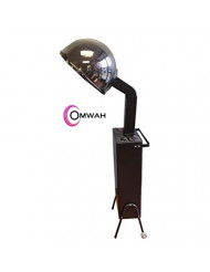 Standing Professional Hair Salon Adjustable Conditioning Hooded Box Dryer with Detachable Wheels