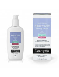 Neutrogena Healthy Skin Glycerin & Green Tea Firming Face Cream Moisturizer & Neck Cream with SPF 15 Sunscreen - Anti Wrinkle Cream, Face Moisturizer for Dry Skin & Neck Firming Cream, 2.5 fl. oz