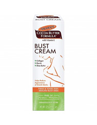 Palmer's Cocoa Butter Formula Bust Cream With Vitamin E, 4.4 Ounces each (Pack of 2)