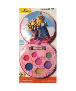 Minions Lip Gloss Kit w/Bonus Mirror