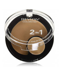 Revlon ColorStay 2-in-1 Compact Makeup & Concealer, Buff