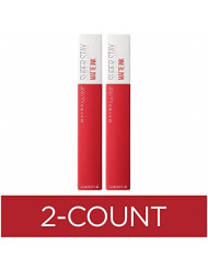 Maybelline SuperStay Matte Ink Liquid Lipstick, Pioneer, Pack of 2