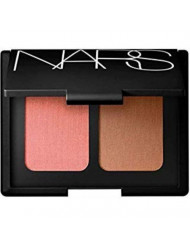 NARS Limited Edition Blush Bronzer Duo in Orgasm - Peachy Pink Shimmer and Laguna - Sheer Light Brown - for All Skintones 0.35 oz 10.5 grams