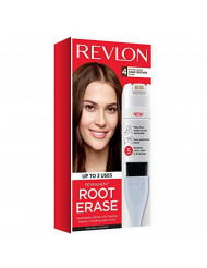 Revlon Root Erase Permanent Hair Color, Dark Brown, 3.2 Fluid Ounce