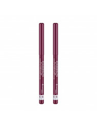 Rimmel Exaggerate Lip Liner, Under My Spell, 2 Count