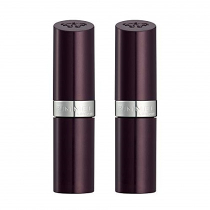 Rimmel,  Lasting Finish Lipstick, Coffee Shimmer (2-Pack)