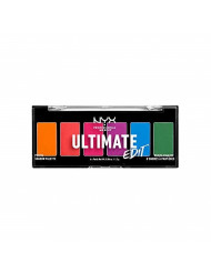 NYX PROFESSIONAL MAKEUP Ultimate Edit Petite Shadow Palette, Bright's, 0.04 Ounce