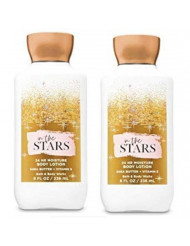 Bath and Body Works 2 Pack In The Stars Super Smooth Body Lotion 8 Oz