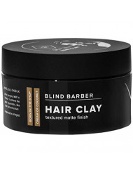 Blind Barber Bryce Harper Hair Clay - Strong Hold Matte Finish Styling Clay for Men, Water Based Kaolin Botanical Formula to Boost Volume & Soak Up Excess Oil (2.5oz / 70g)