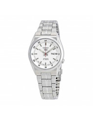 Seiko Series 5 Automatic Date-Day White Dial Men's Watch SNK559J1