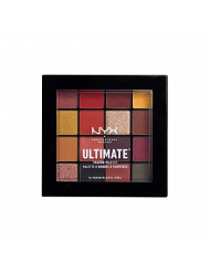 NYX PROFESSIONAL MAKEUP Ultimate Shadow Palette, Phoenix, 1 Count