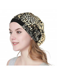 Alnorm Soft Cap for Black Women Super Slouchy Beanie with Inside Satin