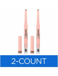 Maybelline New York Total Temptation Eyebrow Definer Pencil, Soft Brown, 2 Count