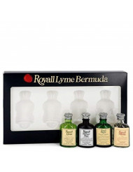Royall Lyme Bermuda 4 Piece Mini Set for Men by Royall Fragrances (Modern Classic)