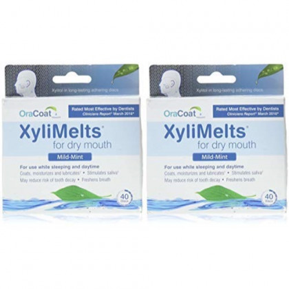 Oracoat Xylimelts, 40 Count 2 Pack