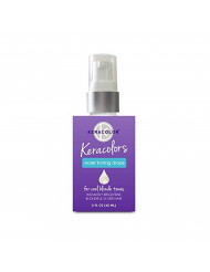 Keracolor Purple Toning Drops Concentrate To Create Your Own Purple Shampoo For Blonde Hair , Mix w/Any Shampoo, Conditioner, Or Cream Styler, Violet, 2 Fl. Oz.