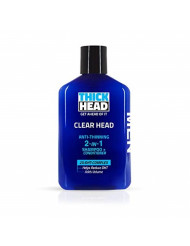 Thick Head - Clear Head Anti-Thinning 2 in 1 Shampoo and Conditioner for Men, 11.7oz
