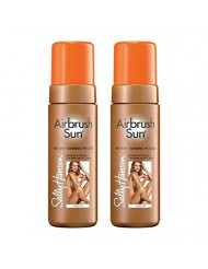 Sally Hansen Airbrush Sun Mousse, Medium,5 Fl Oz, 2 Count