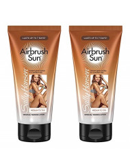 Sally Hansen Airbrush Sun Gradual Tanning Lotion, Medium, 5.9 Ounce, 2 Count